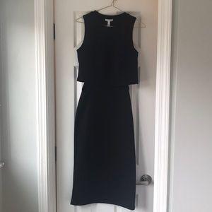 Leith Black Dress